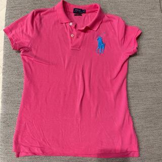 ラルフローレン(Ralph Lauren)のラルフローレン ポロシャツ M ピンク レディース シャツ(ポロシャツ)