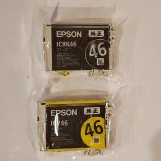 EPSON 純正インクカートリッジ ICBK46  ICY46