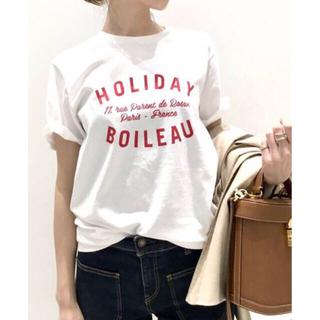 アパルトモンドゥーズィエムクラス(L'Appartement DEUXIEME CLASSE)のアパルトモン HOLIDAY T-SHIRT ホリディtシャツ(Tシャツ(半袖/袖なし))
