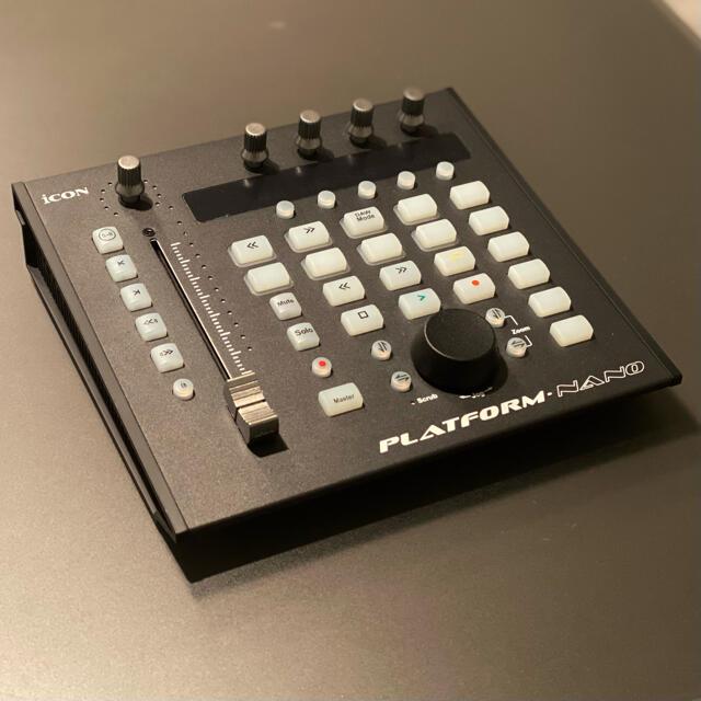 美品 ICON DIGITAL PLATFORM NANO コントローラー 楽器のDTM/DAW(MIDIコントローラー)の商品写真