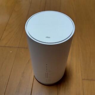 au Speed Wi-Fi HOME WHITE L01s(PC周辺機器)