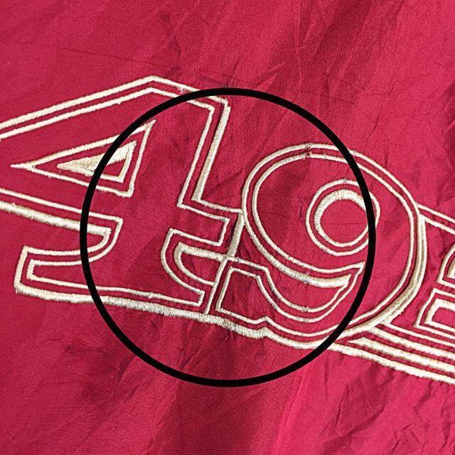 NIKE(ナイキ)のNFL ナイロンジャケット プルオーバー ワンポイント刺繍ロゴ ゆるだぼ90s メンズのジャケット/アウター(ナイロンジャケット)の商品写真
