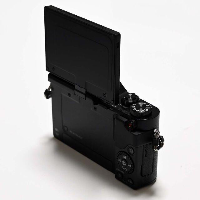 Panasonic(パナソニック)の【保証付】LUMIX G DC-GF10 黒 ブラック ボディ スマホ/家電/カメラのカメラ(ミラーレス一眼)の商品写真