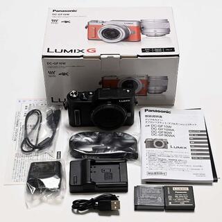 Panasonic - 【保証付】LUMIX G DC-GF10 黒 ブラック ボディ