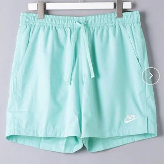 NIKE - タグ付き新品 NIKE フロー ウーブン ショーツ Lサイズ ライトブルー水色