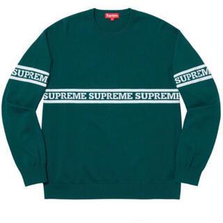 Supreme - Supreme Logo Stripe Knit Top 【美品】