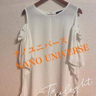 ナノユニバース(nano・universe)のnano universe(ナノユニバース)シャツ/ブラウス(半袖/袖なし)(Tシャツ/カットソー(半袖/袖なし))