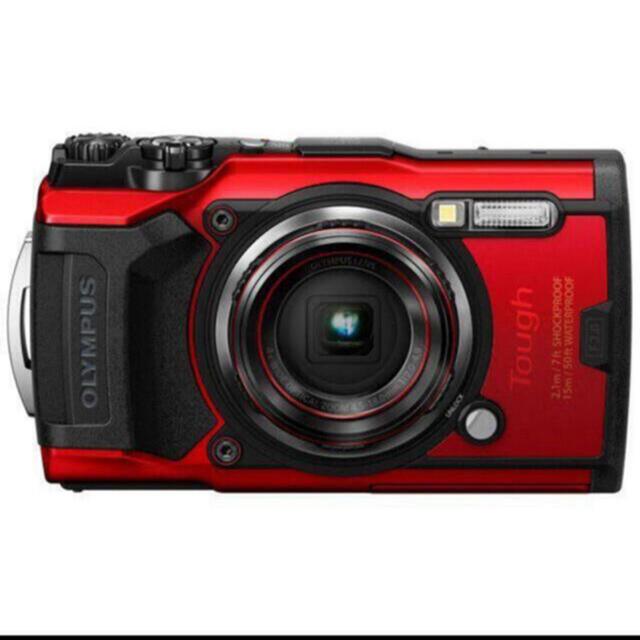 OLYMPUS(オリンパス)のオリンパス TG-6 RED スマホ/家電/カメラのカメラ(コンパクトデジタルカメラ)の商品写真