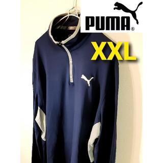 PUMA - 【PUMA GOLF×cobra】ハーフジップ長袖ゴルフウェア/ストレッチ
