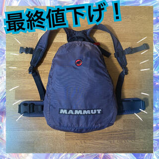 Mammut - 【最終値下げ】MAMMUT マムート バックパック リュック