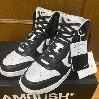 """AMBUSH - AMBUSH×NIKE DUNK HIGH """"BLACK""""最終値下げ❗️"""