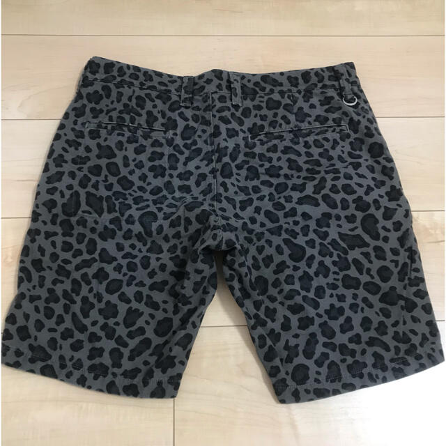 uniform experiment(ユニフォームエクスペリメント)のuniform experiment LEOPARD SHORT PANT メンズのパンツ(ショートパンツ)の商品写真