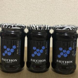 タカシマヤ(髙島屋)のFAUCHON フォション ブルーベリージャム3個(缶詰/瓶詰)