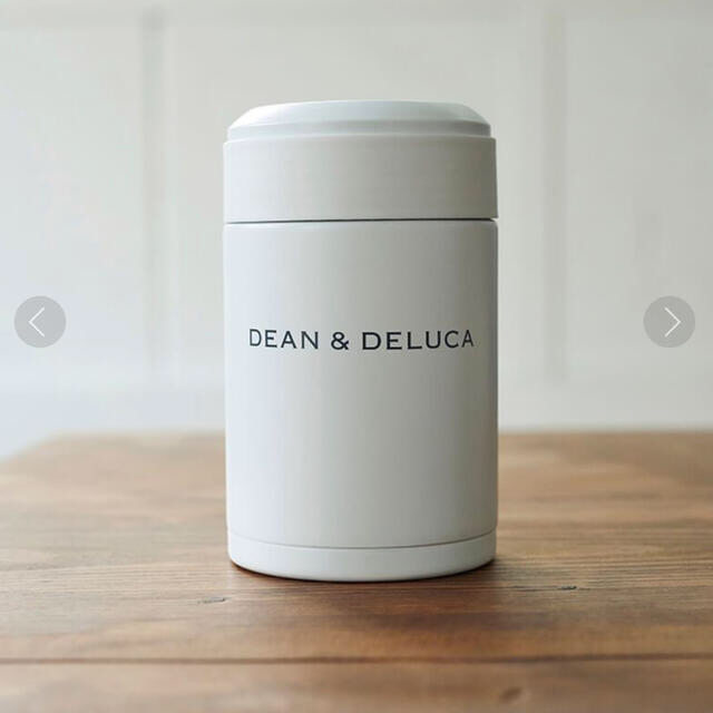 DEAN & DELUCA(ディーンアンドデルーカ)の新品未使用⭐︎DEAN & DELUCA⭐︎スープポット300ml ホワイト インテリア/住まい/日用品のキッチン/食器(弁当用品)の商品写真