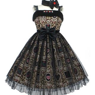 Angelic Pretty - Girly Leopardジャンパースカート