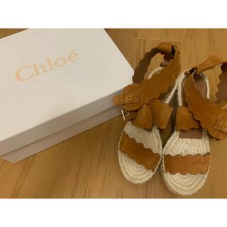 Chloe - chloe エスパドリーユ サンダル