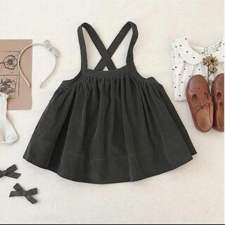 キャラメルベビー&チャイルド(Caramel baby&child )のミィ様専用 soor ploom 吊りスカート 2-3Y(スカート)