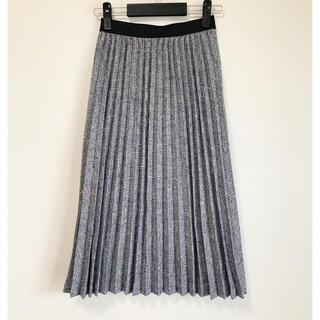 アクアガール(aquagirl)のアクアガール ツイードプリーツスカート(ロングスカート)