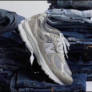 """ニューバランス(New Balance)のLEVI'S × NEW BALANCE M990LV3 """"GREY""""(スニーカー)"""
