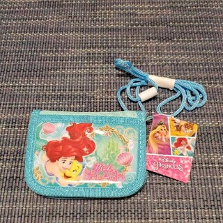 ディズニー(Disney)のディズニー アリエル ラウンドウォレット 財布 新品未使用(財布)