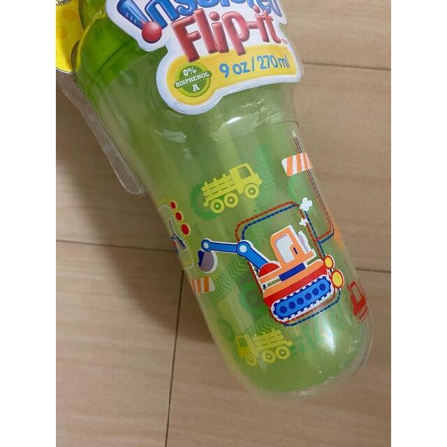 Sassy(サッシー)のnuby フリップイットボトル キッズ/ベビー/マタニティの授乳/お食事用品(マグカップ)の商品写真