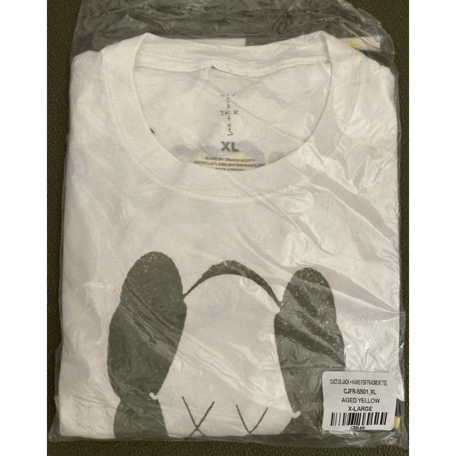 FRAGMENT(フラグメント)のXL CACTUS JACK + KAWS FOR FRAGMENT TEE  メンズのトップス(Tシャツ/カットソー(半袖/袖なし))の商品写真