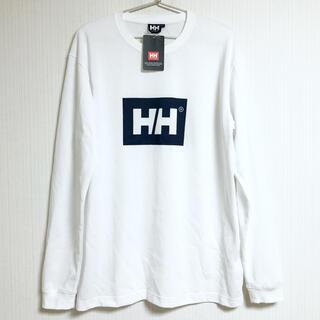 ヘリーハンセン(HELLY HANSEN)のHH ヘリーハンセン 長袖 ロンT 長袖シャツ メンズ トップス ホワイト 白色(Tシャツ/カットソー(七分/長袖))