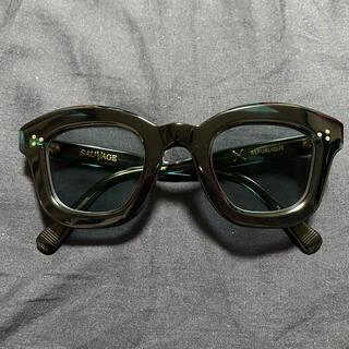 エフェクター(EFFECTOR)のたつや様【美品】SAUVAGE REPUBLIQUE グリーン(限定色)(サングラス/メガネ)