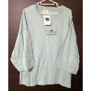 スヌーピー(SNOOPY)の新品タグ付き。サンリオ:スヌーピー・Tシャツ 60 (Tシャツ(半袖/袖なし))