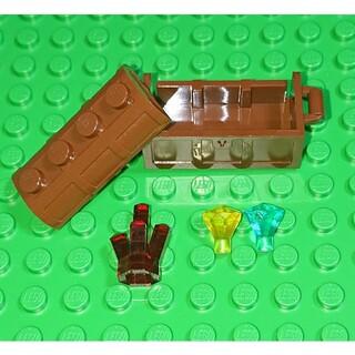 レゴ(Lego)の【新品】LEGO 宝箱&宝石 レゴ ミニフィグアイテム(その他)