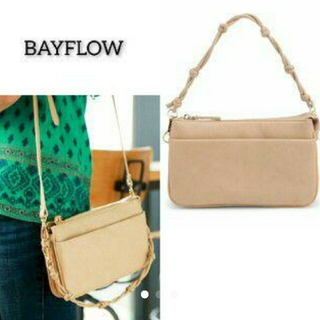 BAYFLOW - 美品 BAYFLOW ベイフロー 9ポケットウォレットバッグ ショルダーバッグ