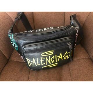Balenciaga - 【本物】BALENCIAGA  グラフィティ ボディバッグ