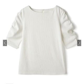グレイル(GRL)のパワショルテレコトップス[jh20] オフホワイト(Tシャツ/カットソー(半袖/袖なし))