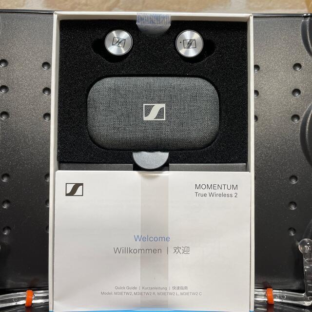 SENNHEISER(ゼンハイザー)のMOMENTUM True Wireless2 SENNHEISER スマホ/家電/カメラのオーディオ機器(ヘッドフォン/イヤフォン)の商品写真