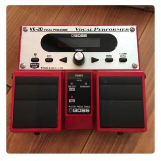 BOSS VE-20 ボーカルエフェクター(エフェクター)