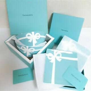 Tiffany & Co. - ティファニー ボウ ボウル 1箱 デザートペアプレート 1箱 セット