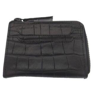 ドリスヴァンノッテン(DRIES VAN NOTEN)のDRIES VAN NOTEN embossed zip wallet ミニ財布(折り財布)