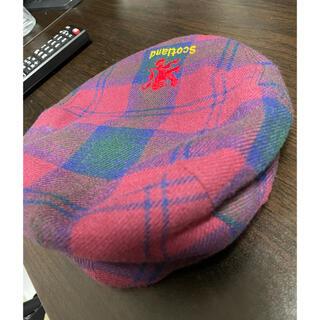 KANGOL - カンゴール 90s キャスケット ベレー帽 チェック イギリス製