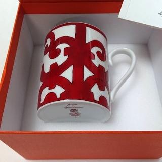 エルメス(Hermes)の【売り切れです!】エルメス ガダルキヴィール マグカップ No.1 × 1個!(グラス/カップ)