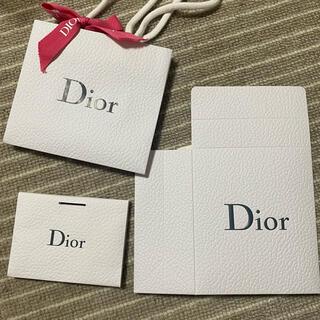 クリスチャンディオール(Christian Dior)のdior ディオール ギフトバック ショップ袋 セット(ラッピング/包装)