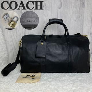 コーチ(COACH)の参考価格140000円♡極美品♡大容量♡コーチ レザー ボストンバッグ 2way(ボストンバッグ)
