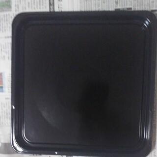 ヒタチ(日立)の中古 日立 オーブン電子レンジ MRO-N800 の角皿 (黒皿)(電子レンジ)