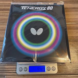 バタフライ(BUTTERFLY)のbutterfly(タマス) テナジー80 トクアツ(2.1mm) 黒(卓球)