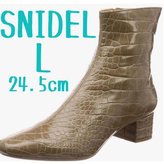スナイデル(snidel)のsnidel  スクエアショートブーツ(ブーツ)