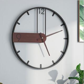 壁掛け時計 北欧 おしゃれ 連続秒針 部屋装飾 非電波