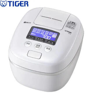 TIGER - TIGER 圧力IH JPC-G100WA 5.5合 エアリーホワイト