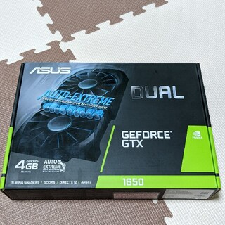 ASUS - 未使用品 ASUS GeForce GTX1650 グラフィックボード VGA
