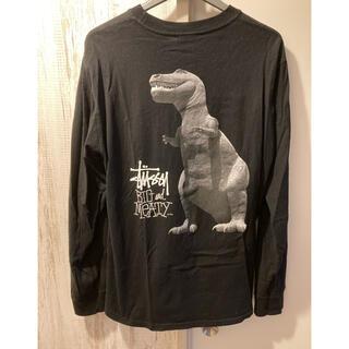 STUSSY - 送料込み Stussy  ダイナソー Tシャツ Mサイズ 黒