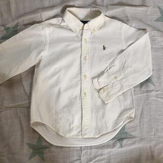 ポロラルフローレン(POLO RALPH LAUREN)のラルフローレン ボタンダウンシャツ 110(ブラウス)