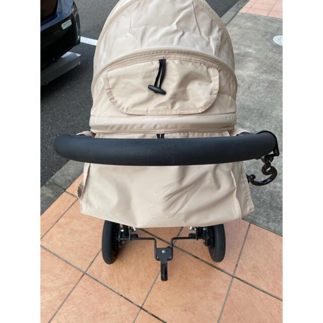 AIRBUGGY(エアバギー)のエアバギーココ ブレーキモデル ベージュ キッズ/ベビー/マタニティの外出/移動用品(ベビーカー/バギー)の商品写真